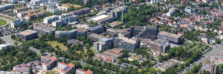 Uni Paderborn Luftbild