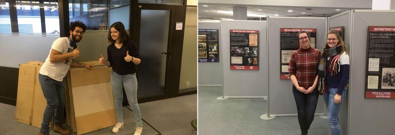 Ausstellung an der Uni Paderborn: Sortir de la guerre - Nach dem Krieg