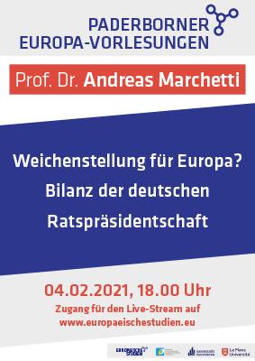 Europäische Studien Paderborn – Vortrag Marchetti